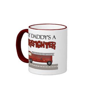 Regalos del bombero taza de café