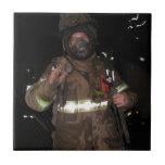 Regalos del bombero teja  ceramica