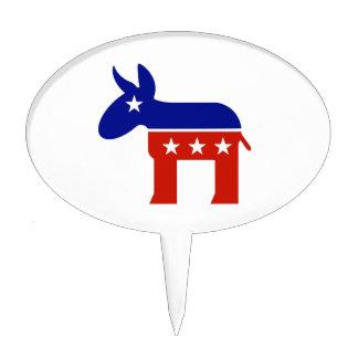 Regalos del burro de Demócrata Decoración De Tarta
