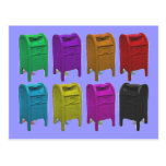 Regalos del buzón POPART para los empleados de cor Tarjeta Postal