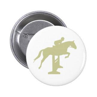 Regalos del caballo y del jinete del puente del pin redondo de 2 pulgadas