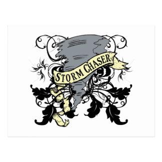 Regalos del cazador de la tormenta tarjeta postal