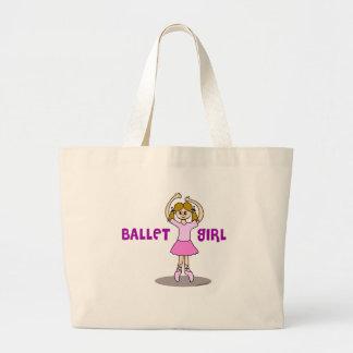 Regalos del chica del ballet bolsa de mano