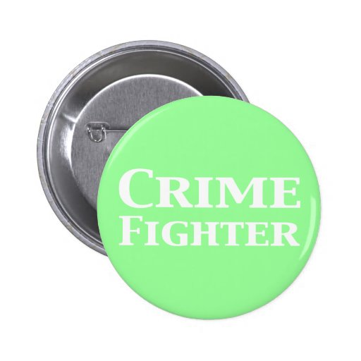 Regalos del combatiente del crimen pin