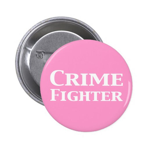 Regalos del combatiente del crimen pins