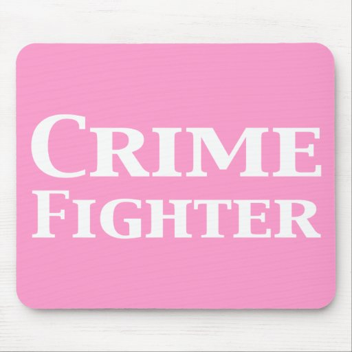 Regalos del combatiente del crimen alfombrilla de raton