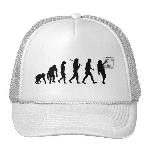 Regalos del consultor en administración de empresa gorras de camionero