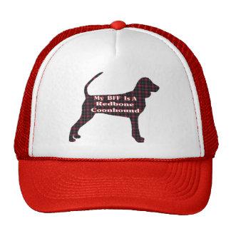 Regalos del Coonhound BFF de Redbone Gorros Bordados