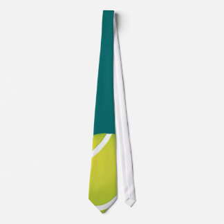 Regalos del deporte de la pelota de tenis el | corbatas