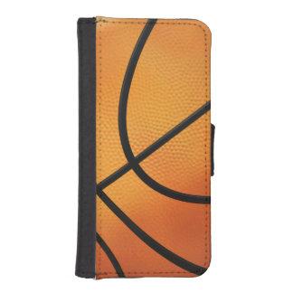Regalos del deporte del baloncesto el | fundas billetera de iPhone 5