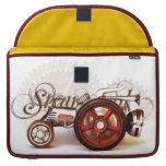 Regalos del destino del tractor de Steampunk Fundas Macbook Pro