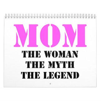 Regalos del día de madre calendarios