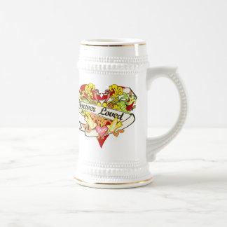 Regalos del día de madre para la mamá jarra de cerveza