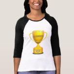 Regalos del día de madres de la abuela del trofeo camisetas