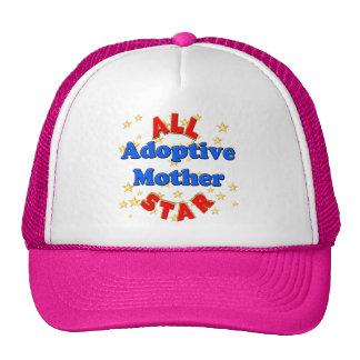 Regalos del día de madres de la madre adoptiva de  gorros bordados