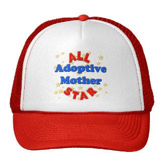 Regalos del día de madres de la madre adoptiva de  gorra