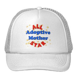 Regalos del día de madres de la madre adoptiva de  gorras