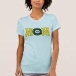 Regalos del día de madres de la mamá del jugador camiseta