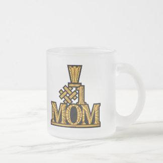Regalos del día de madres de la mamá del número un taza de café
