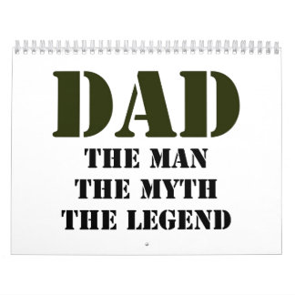 Regalos del día de padre calendario