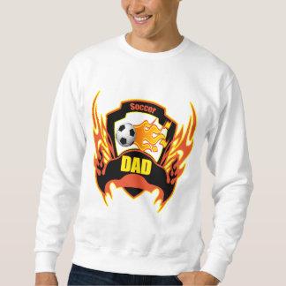 Regalos del día de padres del papá del fútbol suéter
