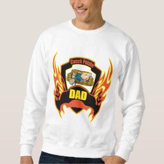 Regalos del día de padres del papá del teleadicto jersey