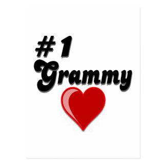 Regalos del día del abuelo de #1 Grammy Postales