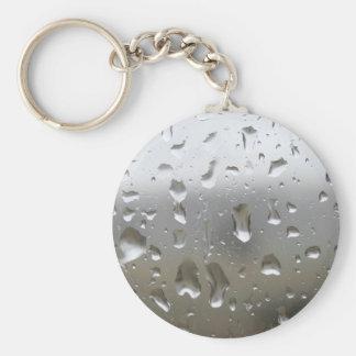 Regalos del día lluvioso llavero redondo tipo pin