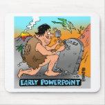 Regalos del dibujo animado del PowerPoint Tapete De Ratón