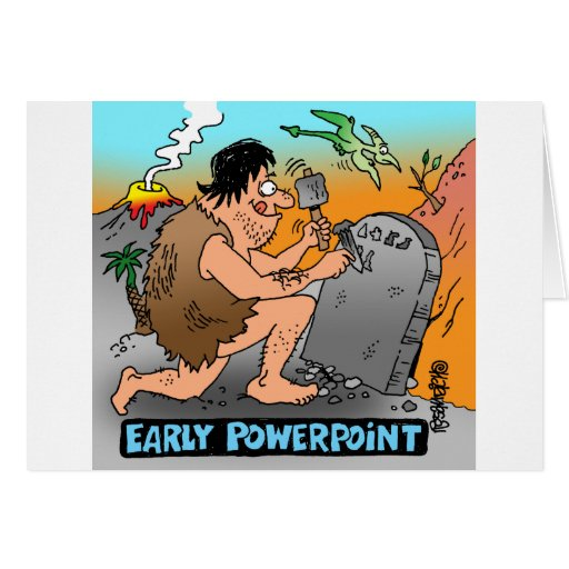 Regalos del dibujo animado del PowerPoint Tarjeta De Felicitación