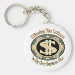 Regalos del dinero divertido llaveros personalizados