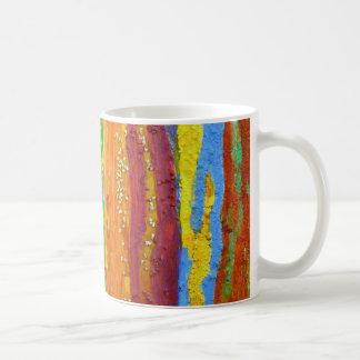 Regalos del diseño del arte abstracto de los taza clásica