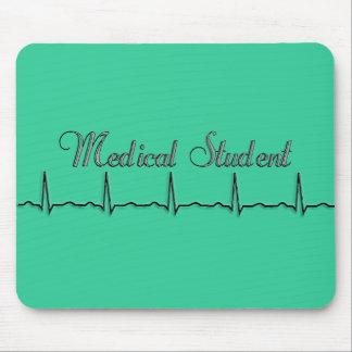 Regalos del diseño del estudiante de medicina QRS Tapete De Raton