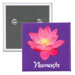 Regalos del diseño floral de Namaste Lotus Pins