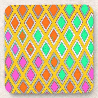 Regalos del diseño geométrico del posavasos