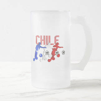 Regalos del equipo de fútbol de los jugadores de f taza cristal mate