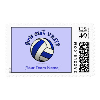 Regalos del equipo del voleibol - azul