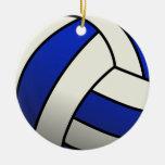 Regalos del equipo del voleibol - azul adorno para reyes