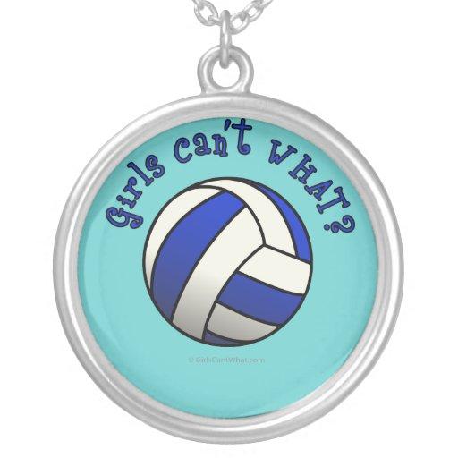 Regalos del equipo del voleibol de los chicas - az pendientes personalizados