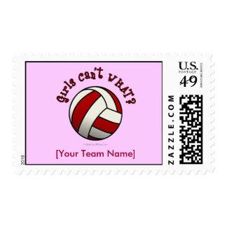 Regalos del equipo del voleibol - rojo