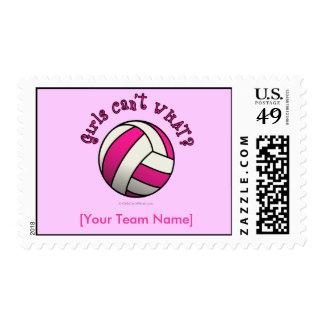 Regalos del equipo del voleibol - rosa