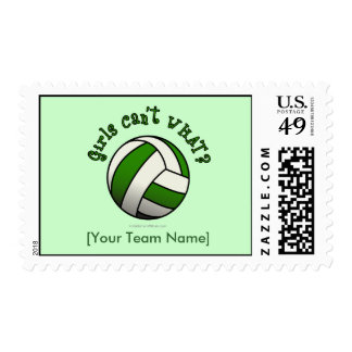 Regalos del equipo del voleibol - verde