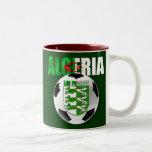 Regalos del escudo del balón de fútbol de la bande taza de café