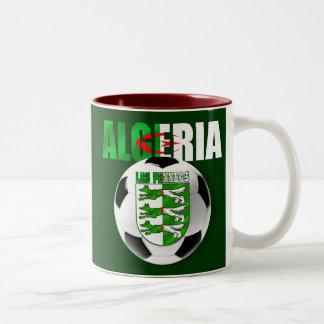 Regalos del escudo del balón de fútbol de la taza de dos tonos