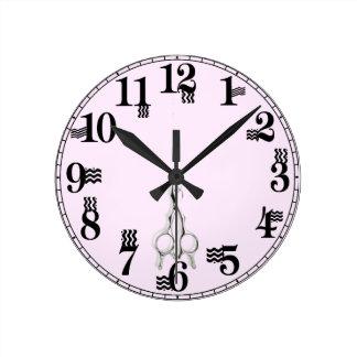 regalos del estilista reloj redondo mediano