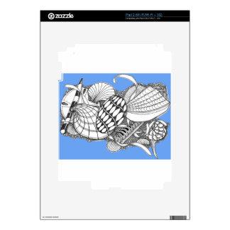 Regalos del estilo del mar calcomanías para iPad 2
