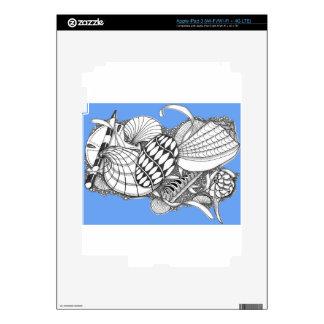 Regalos del estilo del mar iPad 3 pegatina skin