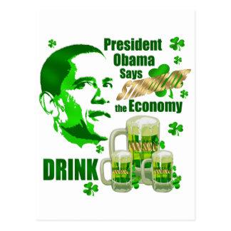 Regalos del estímulo de la cerveza de la bebida de tarjeta postal