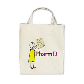 Regalos del estudiante de la farmacia de PharmD Bolsa De Mano