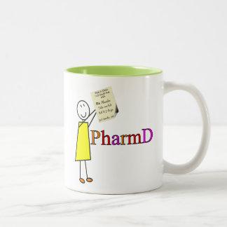 Regalos del estudiante de la farmacia de PharmD Tazas